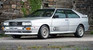 1990 audi quattro turbo comes with a rallying pedigree