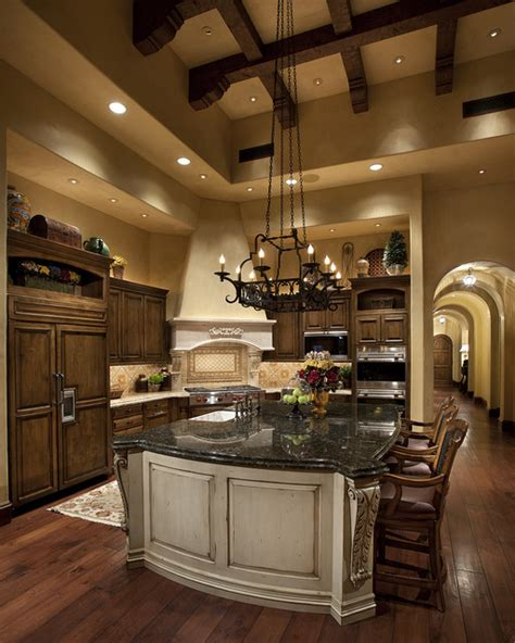Tuscan Kitchen Lighting Tuscan Kitchen Mediterranean Kitchen Other By R J Gurley Construction