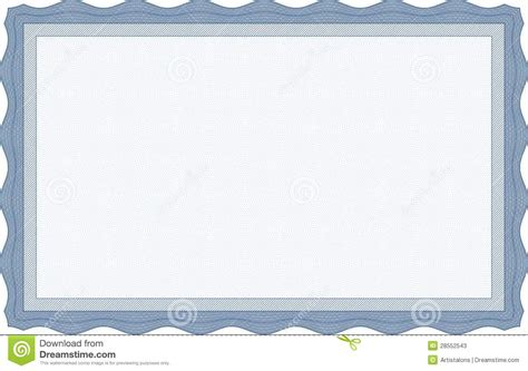 blue certificate template best photos of clear stock certificate border template