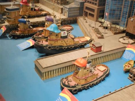 tugboat halifax harbour model of halifax harbor with theodore the tugboat models
