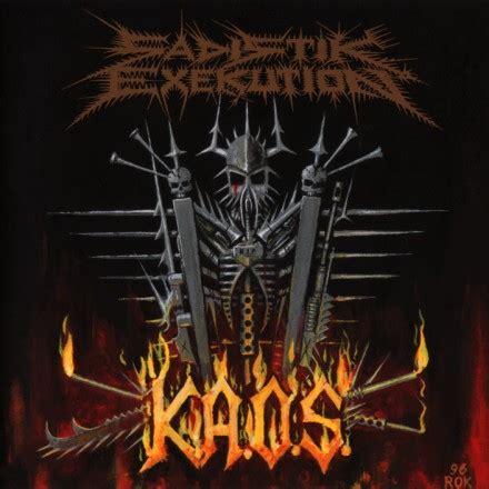 Kaos Metal No 51 sadistik exekution k a o s encyclopaedia metallum