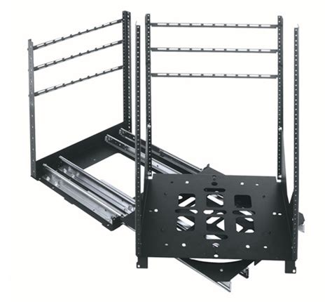 Middle Atlantic Racks by Srsr Series Slide Out Rotating Rail System