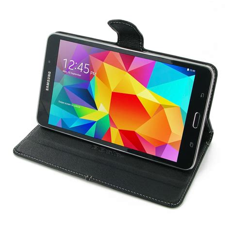 Book Cover For Galaxy Tab 4 7 0 samsung galaxy tab 4 7 0 leather smart flip carry cover