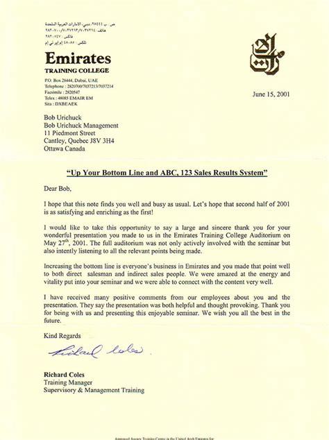 Business Letter Writing Course In Dubai emirates college dubai bobu