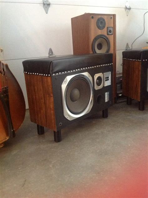 bench speakers 27 best old speaker box makeover images on pinterest