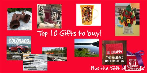 best websites to buy christmas presents gifts to buy this northern ontario travel