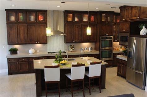 dark stain kitchen cabinets modern kitchen cabinets with dark stain by burrows