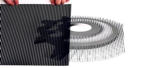 How To Make Optical Illusions On Paper - trippy diy animations use these printable templates to
