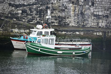 fishing boat trips northern ireland fishing boats clarnlough northern ireland photograph by