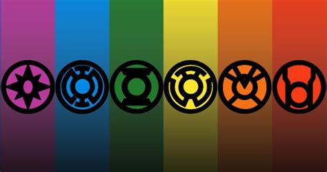 lantern corps colors which color lantern corps would you be in playbuzz