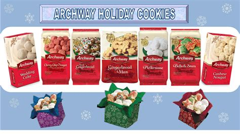archway christmas cookies christmas decore