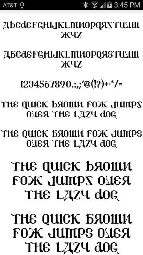 stylish fonts for android stylish fonts for flipfont android apps on play