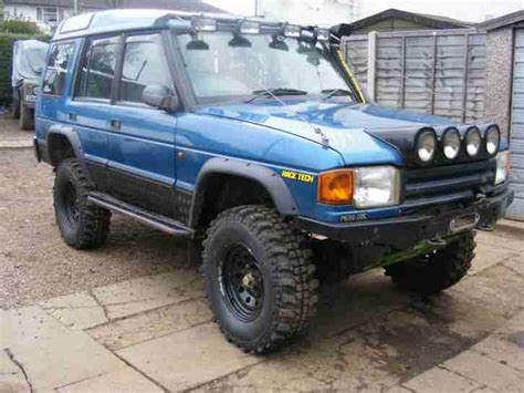 land rover discovery roader for sale 1996 land rover discovery 300 tdi blue roader loads of