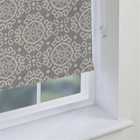 grey patterned blinds grey patterned roller blinds made to measure from direct