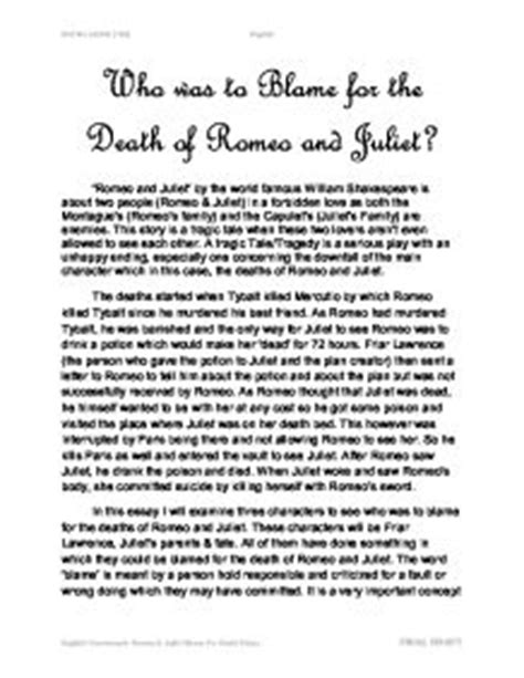 theme of haste romeo and juliet romeo and juliet english essay the theme of haste in romeo