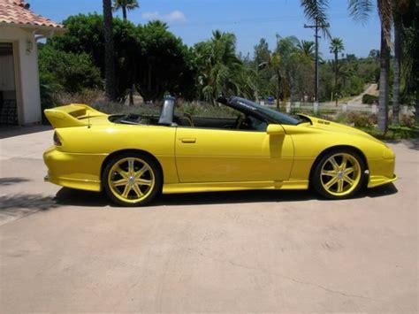 1994 camaro z28 convertible 1994 chevy camaro z28 convertible for sale chevrolet