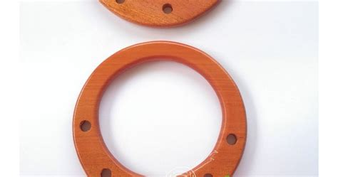 Gagang Tas Kayu Mahoni Kumis gita galeri rajut handle tas kayu mahoni