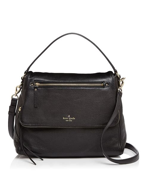 kate spade new york lyst kate spade new york cobble hill toddy shoulder bag in black