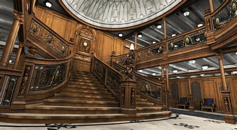 titanic 2012 images grand staircase reconstructured hd