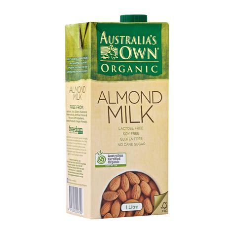 Halal Almond Milk Australia Australias Own Organic Almond australia s own organic almond milk gluten free uht 0