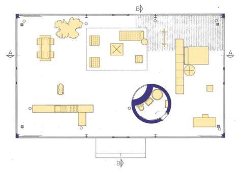 Philip Johnson Glass House Building Floor Plans Scaled by The Glass House Philip Johnson New Canaan Connecticut