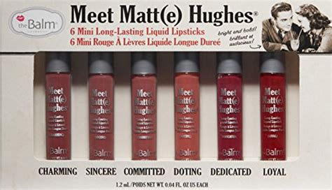 The Balm Meet Matt E Hughes Comitted Mini 1 2 Ml Kecantikan Diskon thebalm meet matt e hughes kit desertcart