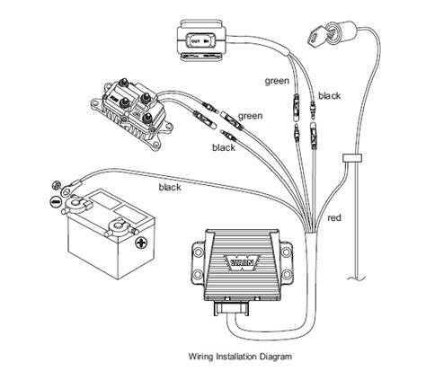 atv wireless remote wiring diagram with winch remote