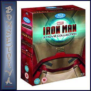 Iron Dvd Box Set Collection Koleksi iron 1 2 3 marvel 3 collection brand new boxset