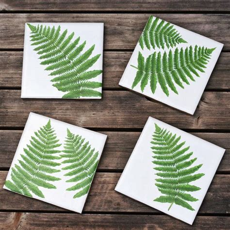 Decoupage Coasters - make botanic decoupage coasters via bliss bloom