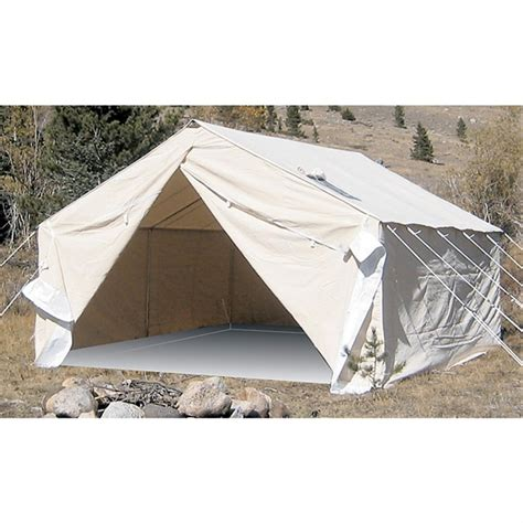 wall tent big horn 10x12 wall tent 99203 outfitter canvas