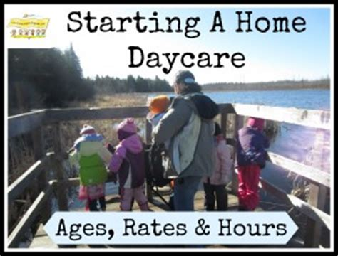 day care near me prices starting a home daycare ages rates and hours how to