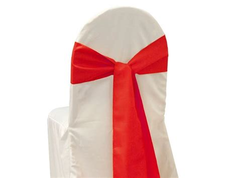 Chair Sash Ties by 50 Polyester Chair Sashes Bows Ties Wedding