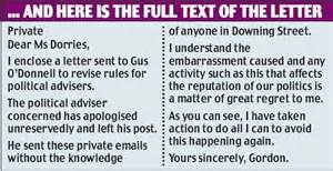 Apology Letter To Your Ex Best Friend Brown S Apology Letter Revealed But It Wasn T Heartfelt Says Target Daily Mail