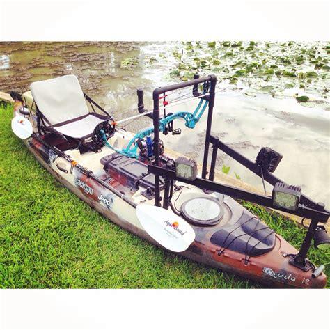 bowfishing boat ideas diy kayak for bowfishing diy ideas pinterest
