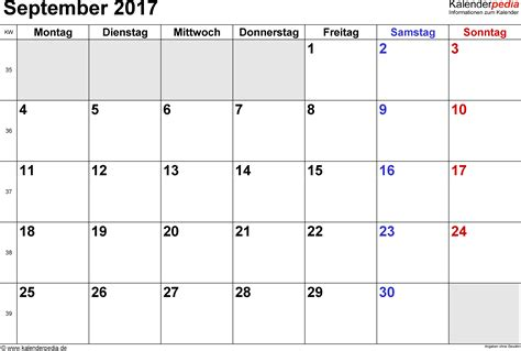 Kalender 2018 Bulan Agustus Kalender September 2017 Kalender 2017