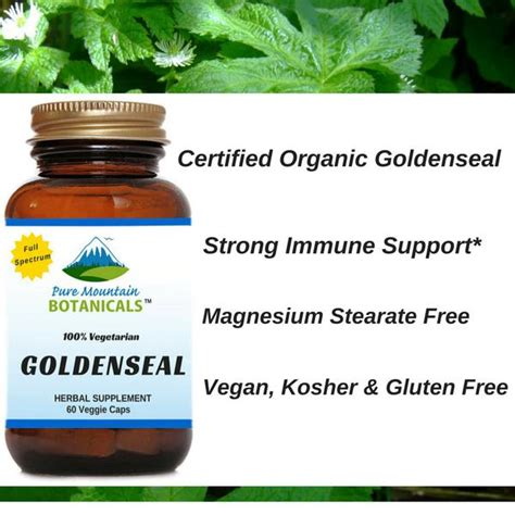 Goldenseal And Improved Liver Detox by Looking For The Best Organic Goldenseal Root Capsules