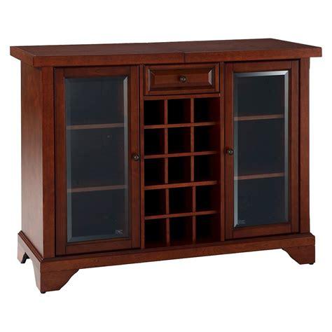 sliding top bar cabinet compare lafayette sliding top bar cabinet in mahogany