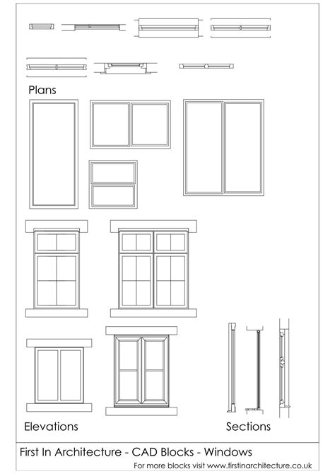 Bay Window Elevation Drawings