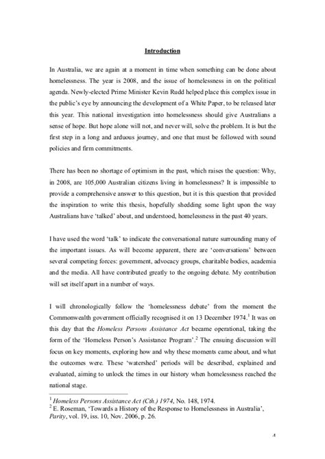 Power Essay by The Power Of Perception Homelessness Thesis Pdf