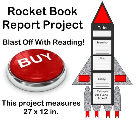 creative book report ideas rocket book report projects templates worksheets