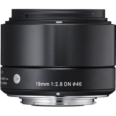 Lensa Sigma Wide Angle 19mm F2 8 sigma 19mm f 2 8 dn lens for micro four thirds cameras 40b963