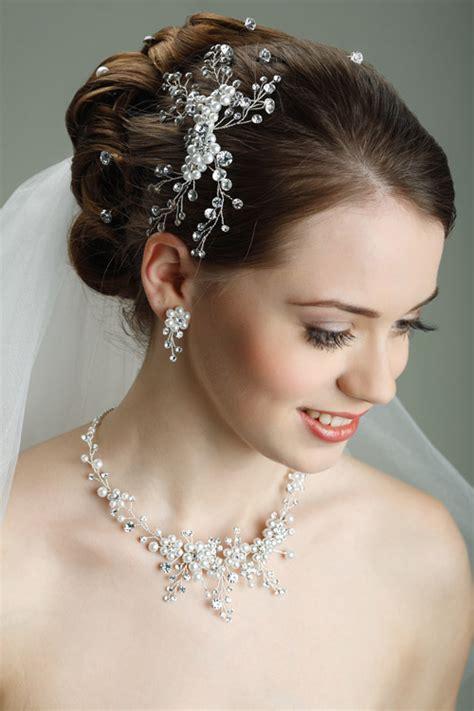 Brautschmuck Mit Perlen by Perlen Haarschmuck Zur Hochzeit Gesteck 2014