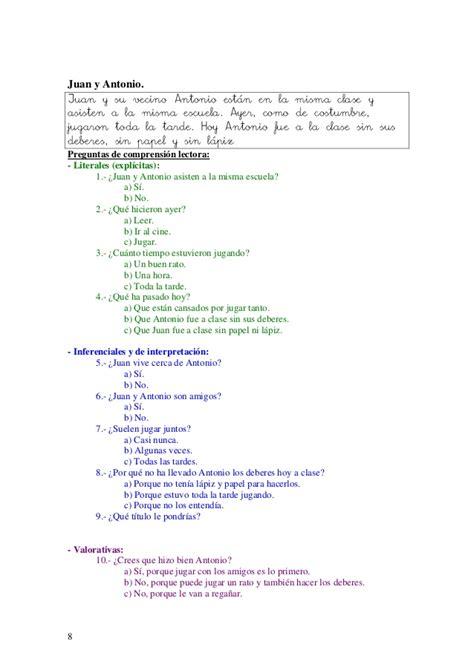 lecturas sencillas para nios de primer grado lecturas para ni 209 os de primer grado
