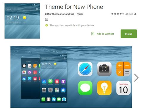 themes apps android download best ios theme for android
