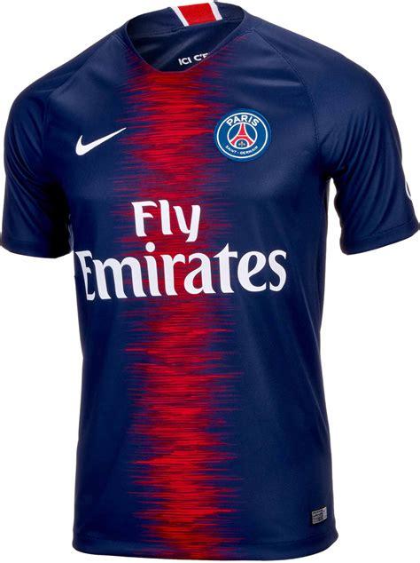 kylian mbappe jersey nike kylian mbappe psg home jersey 2018 19 soccerpro