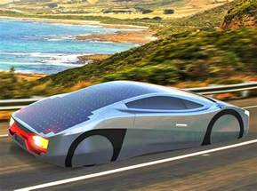 Electric Car With Solar Panels The Immortus Electric Sports Car Can Drive All Day Using
