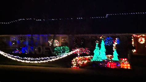 amazing christmas lights show in glendora ca youtube