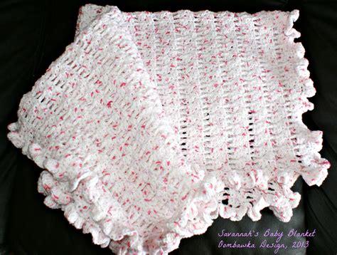 savannah s baby blanket crochet pattern free