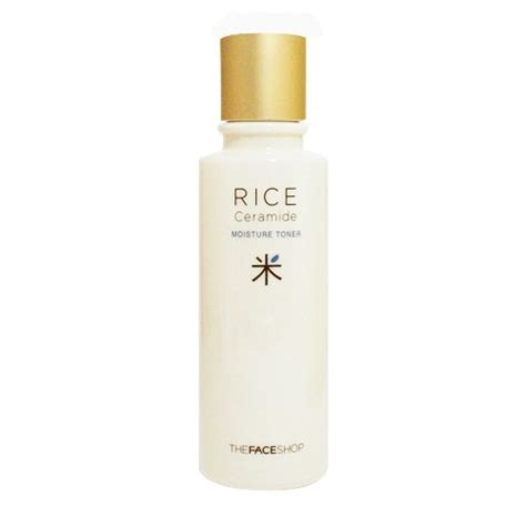 Harga The Shop Rice Ceramide Moisture Toner rice ceramide moisture toner the shop for all skin