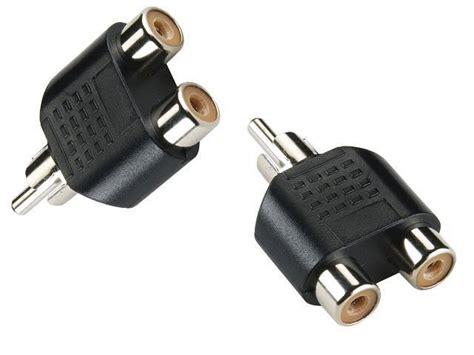 Y Audio Splitter by Rca Audio Video Splitter Adapter Y Splitter Rca Male
